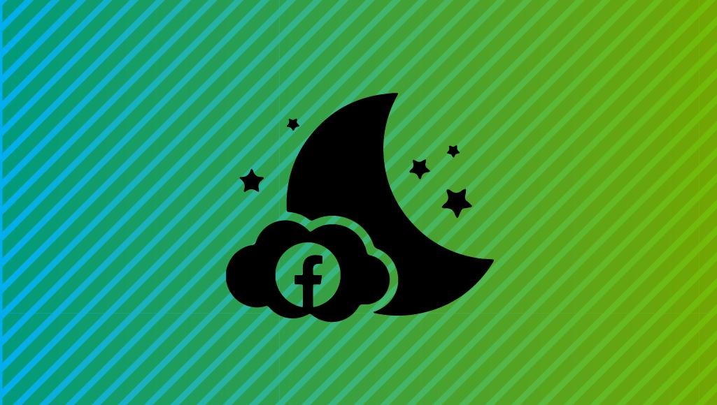 """Memes bajo las estrellas: Facebook prueba el """"modo oscuro"""" en Android"""